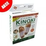 Detoxikační náplasti Kinoki za akční cenu 35 Kč. Zatím ještě jsou.