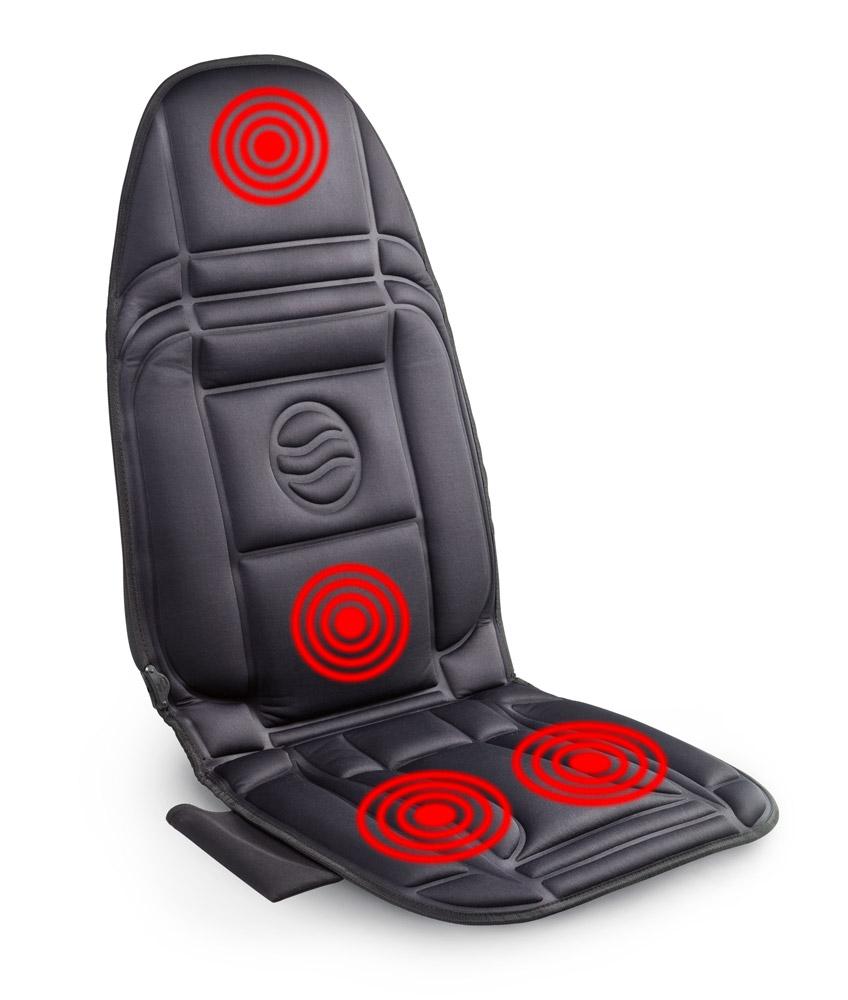 Vyhřívaná podložka s masáží nejen do auta za senzačních 599 Kč. Super akce.