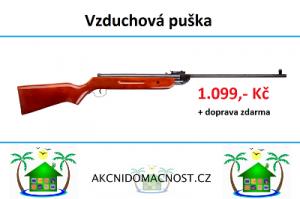 Vzduchové pistole od 1.099 Kč a dopravným zdarma!