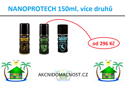 Nanoprotech technologie od 189 Kč. Videa u výrobků! Bomba na trhu!