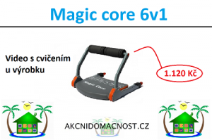 Buďte fit do plavek s Magic Core 6v1. Video u výrobku.