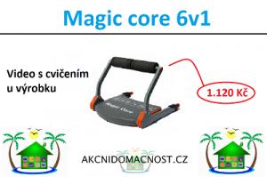 Buďte fit s Magic Core 6v1. Video u výrobku.