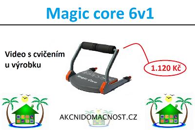 Buďte fit do plavek s Magic Core 6v1. Video u výrobku.