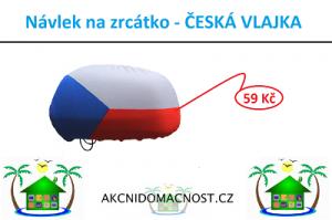 Vlajka na zrcátka. Fandíme ČR, co vy?