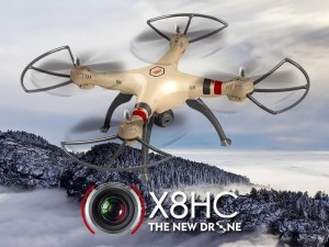 SYMA X8HC HD kamera + barometr + 15 minut letu, doprava zdarma, za 2.398 Kč!